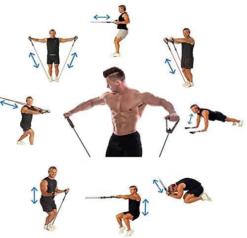 Vous travaillez tout le corps   votre dos, vos épaules, vos pectoraux, vos  bras, vos jambes, vos abdos… Quels que soient votre niveau et vos  objectifs, ... cfe0d27d4b9