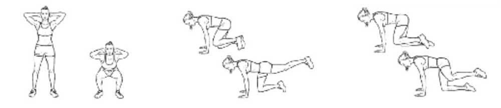Programme de musculation pour femme à la maison   meilleurs exercices d8a6c497690